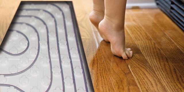 Suelo radiante confort total, ahorro energético y respetuoso con el medio ambiente.