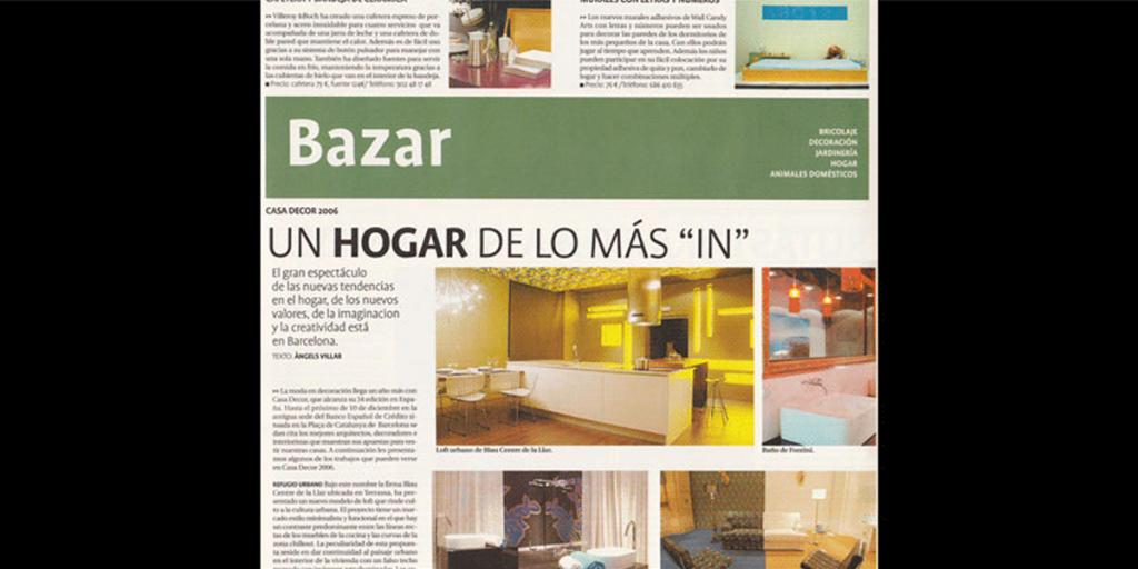 Casadecor 2006 publicado por Bazar